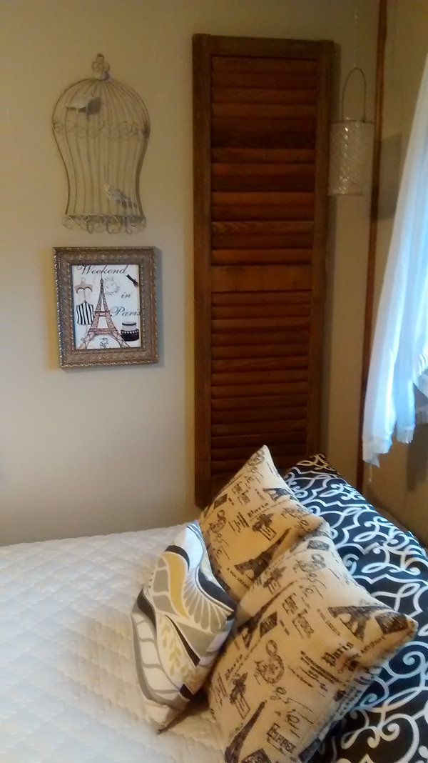 Tween to Serene Bedroom - After redecoration; French County Chic