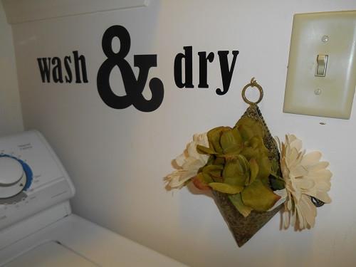 Wash & Dry Wall Sticker
