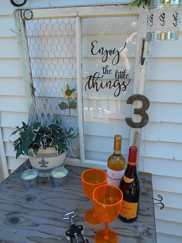 Funky Junky Drink Station Upcycle