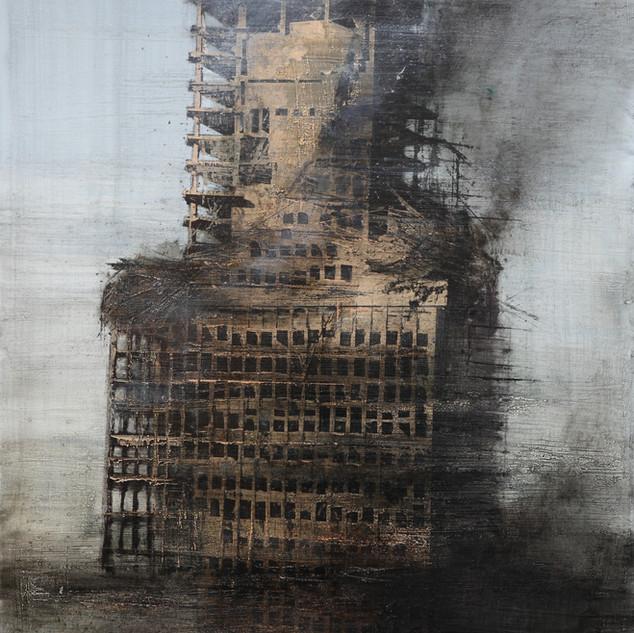 The Windsor building burnt IV