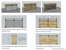 Custom Furniture - Storage Console