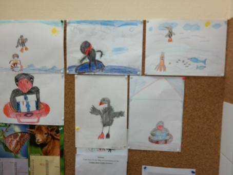 """Lesung an Grundschulen mit """"Gottfried, der Turborabe"""" - Ein Erfahrungsbericht"""