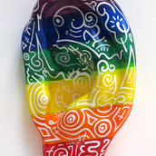 Gouttes d'arc-en-ciel (Rainbow Drops), 2011