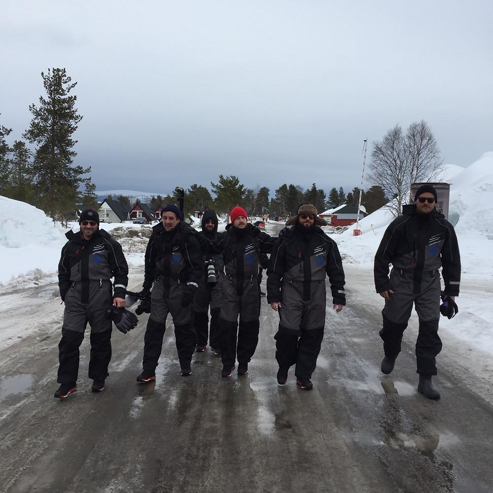 The Squad in Lapland