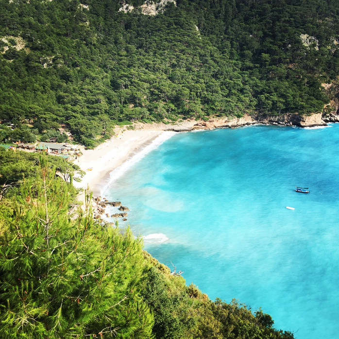 KABAK Beach: a secret Spot in Turkey