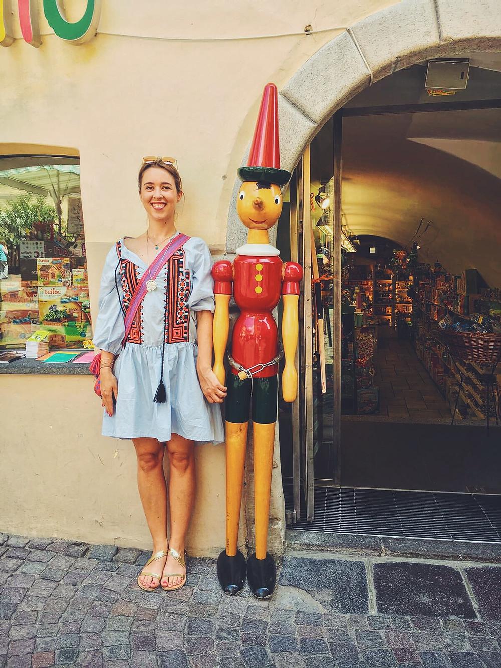 Bozen Tirol Pinocchio