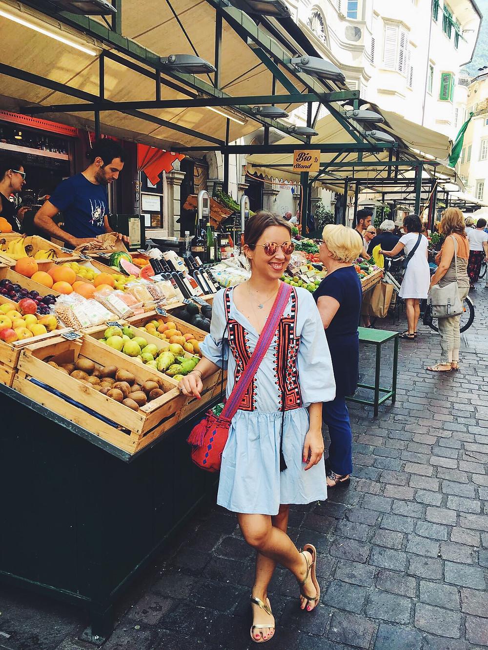 Markt Bozen Tirol