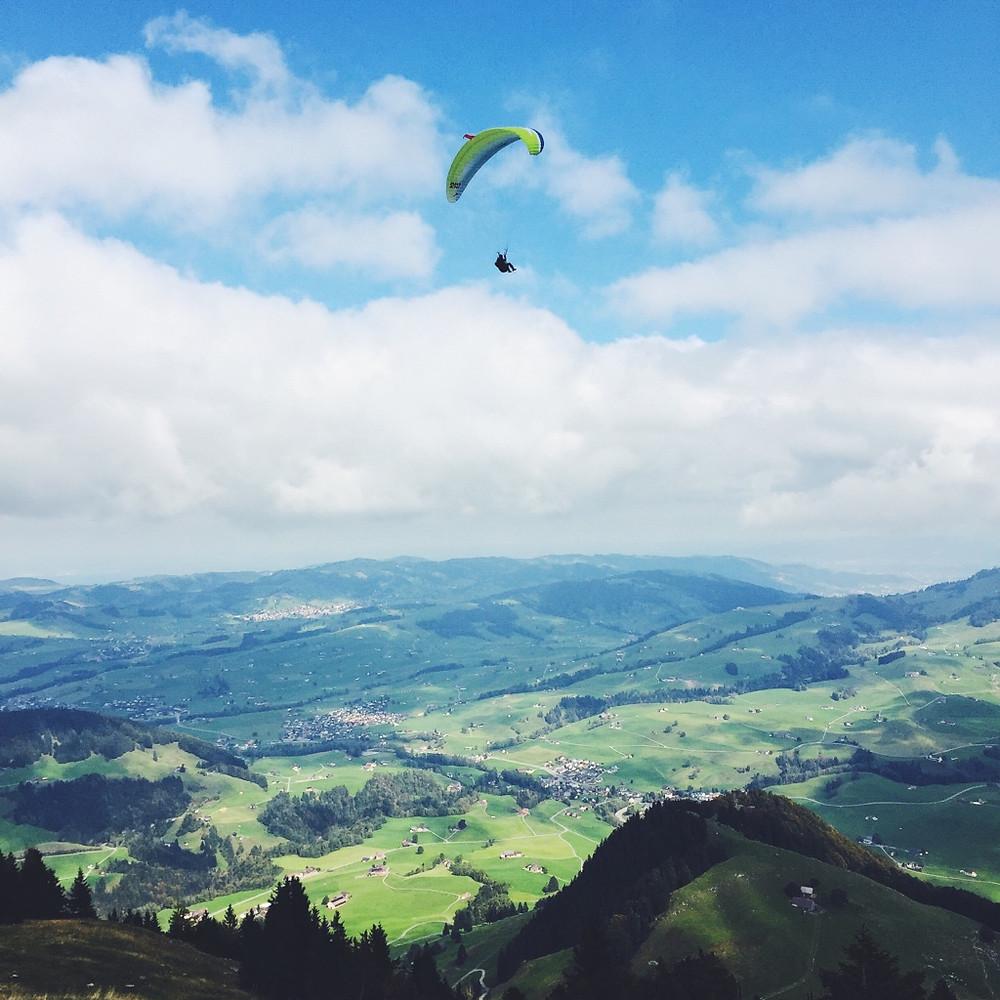 Paraglider Wildkirchli