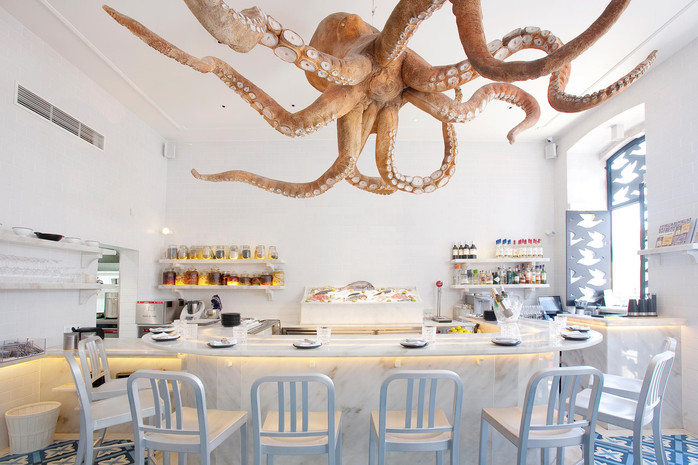 A Cevicheria - a restaurant in the hands of the octopus