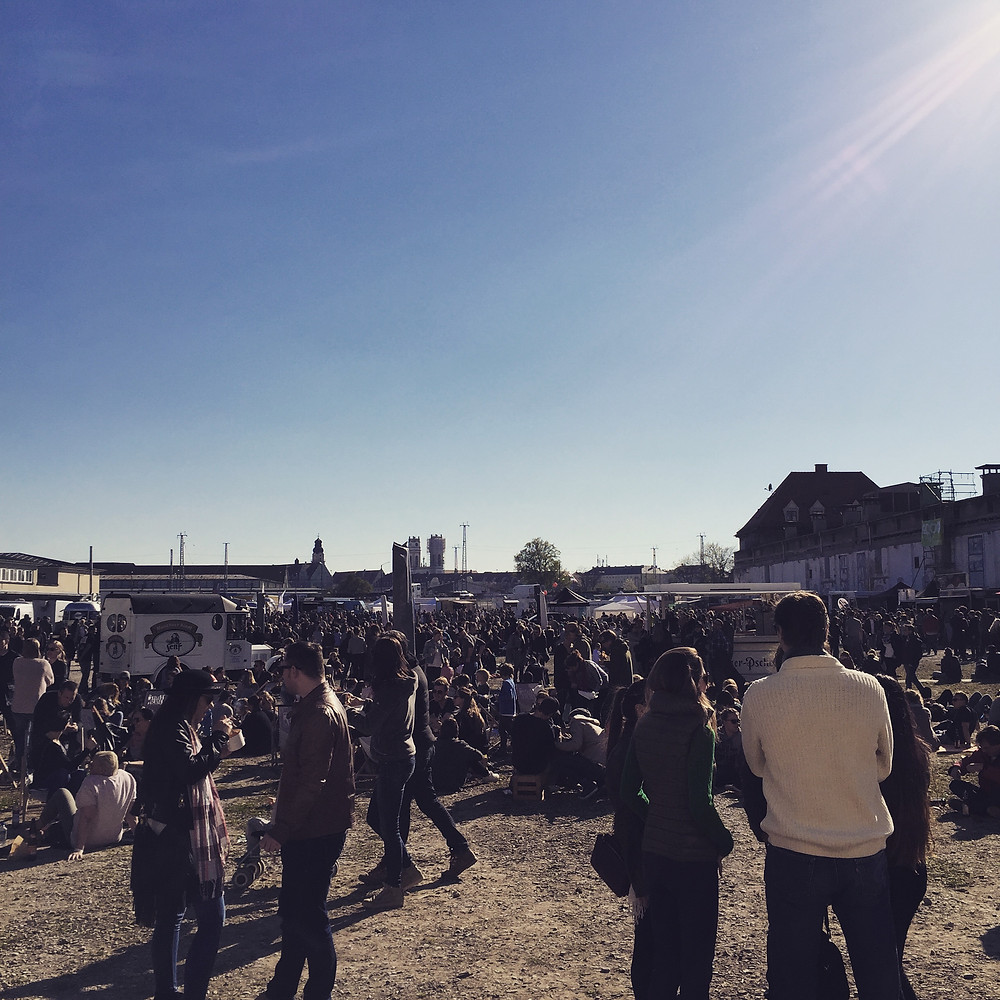 München Coachella Festival Streetfood Market