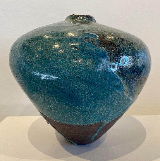 LISE EDWARDS - Multi Fired Stoneware Jar