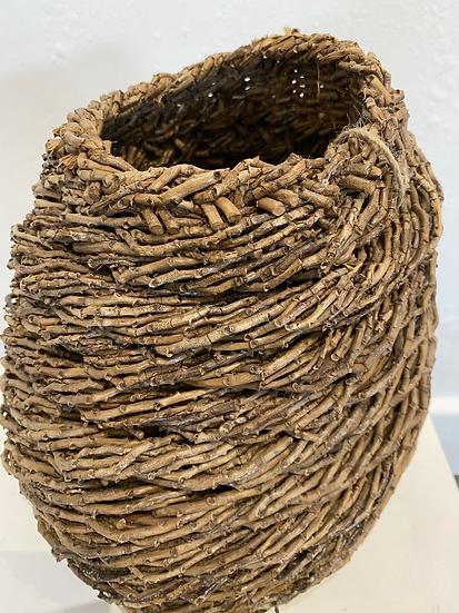 Roped Wale Bangalow Basket