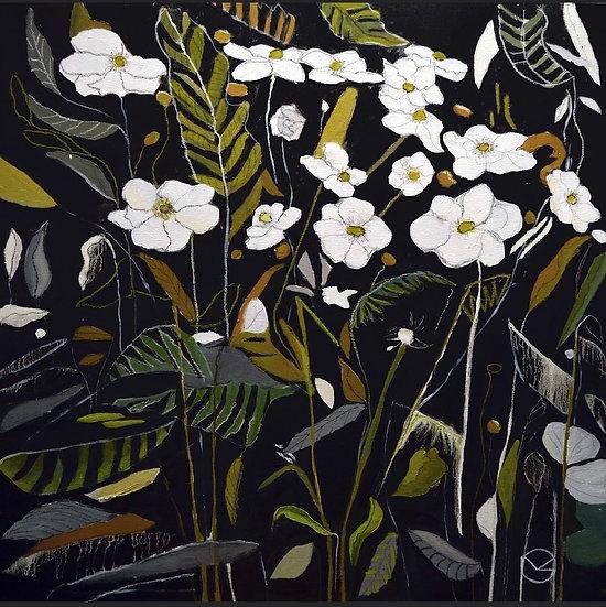 MARIA GRZYBOWSKI - White Flowers
