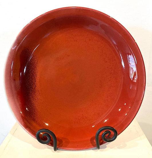 SUSIE McMEEKIN - Copper Red Dish