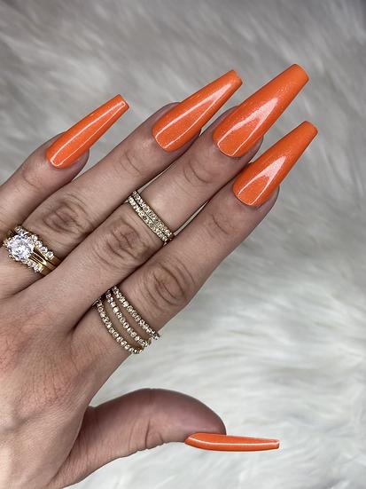 Lavish - Orange Glitz