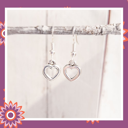 Pretty Heart Earrings