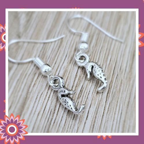 Tiny Seahorse Earrings