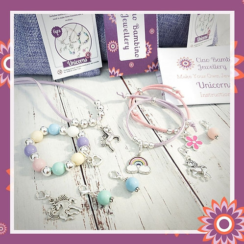 Make Your Own Jewellery Kit - Unicorns