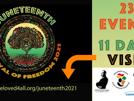 Juneteenth Festival of Freedom 2021 Announced