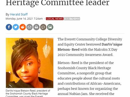 EvCC recognizes SnoCo Black Heritage Committee leader