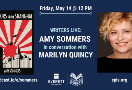 Writers Live: Amy Sommers in conversation with Marilyn Quincy