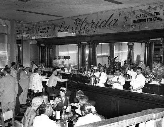The History of the Daiquiri cocktail