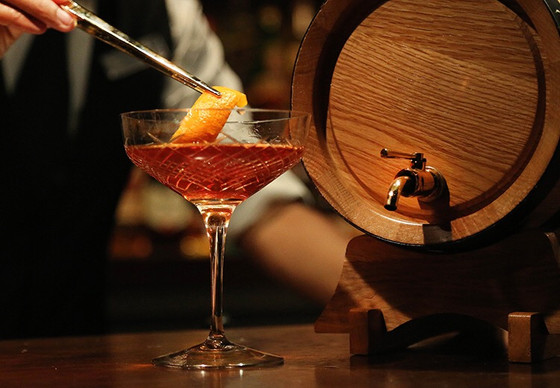Bartending Guide: Barrel Aged Cocktails