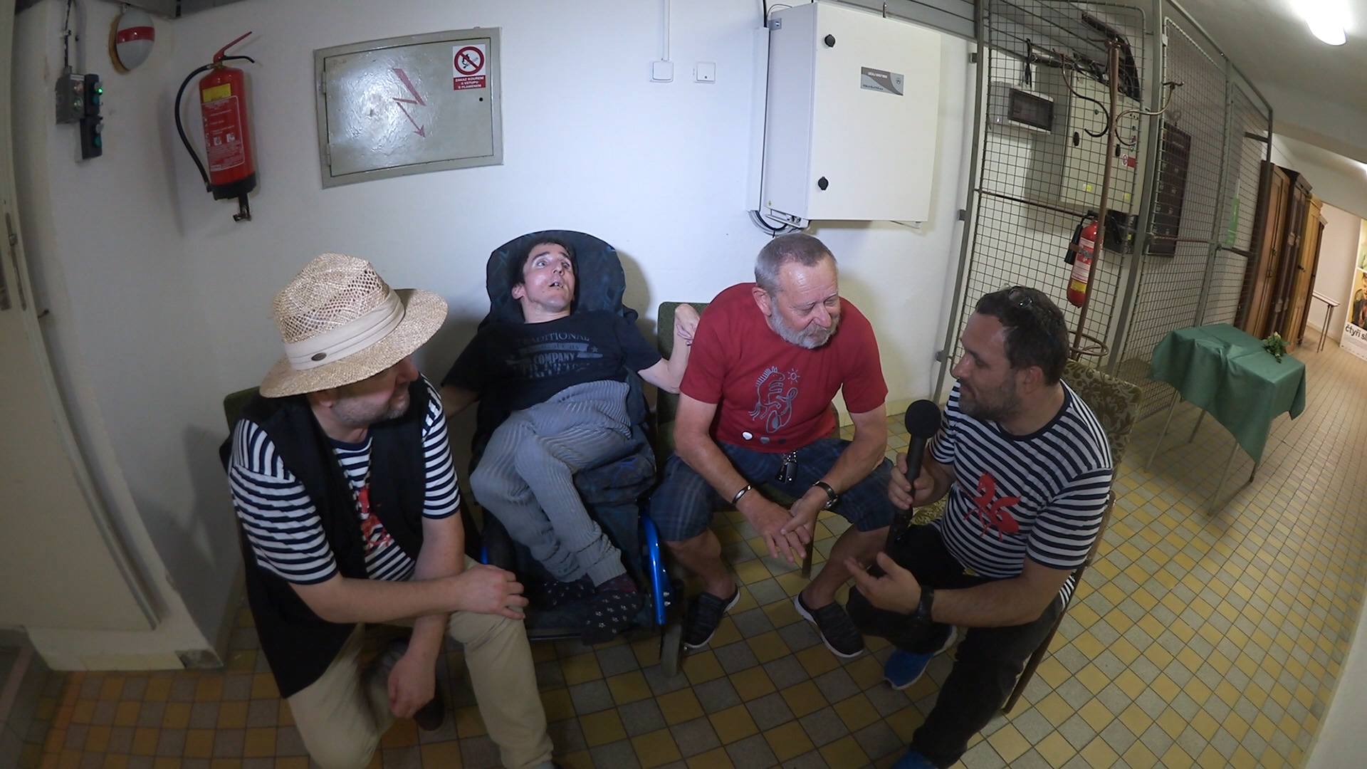 S Pavlem Barnášem a Cimrmany