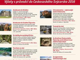 Zážitkové výlety v Českosaském Švýcarsku s certifikovanými průvodci.