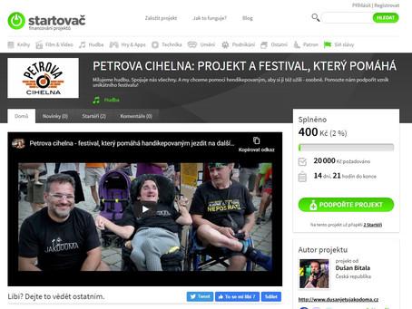 Podpořte festival na Startovači a máte hnedle lístek i s dárkem!!!