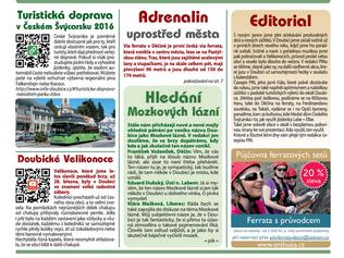 Jsou tu pro Vás nové noviny PIN plné výletů