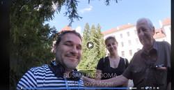 S Dušanem Vančurou a ženou Zuzkou