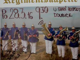 Na velikonoce přijede do Doubice parrrádní C.K. vojenská dechová kapela