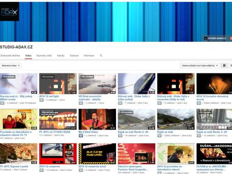 Video kanál má za posledních 6 měsíců více než 10 000 shlédnutí. Ólalá :-))))