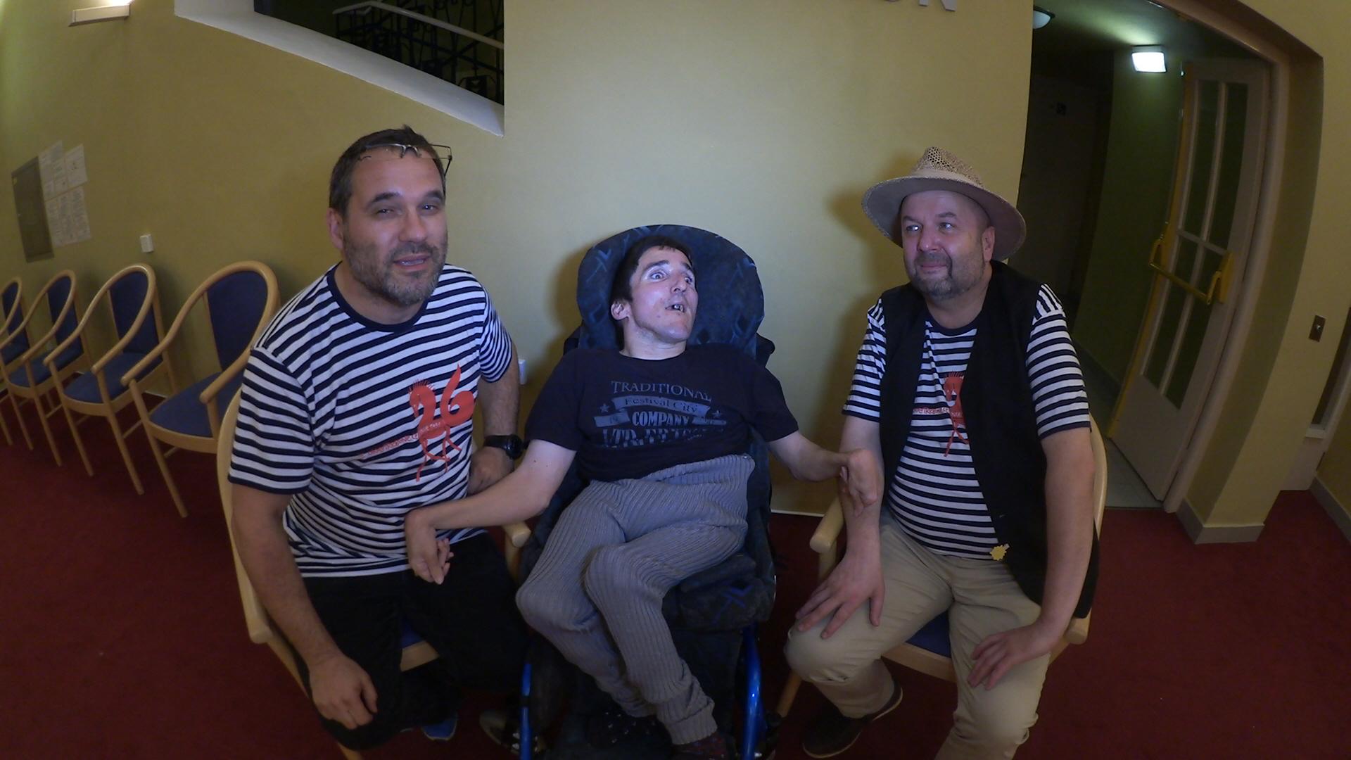 S Pavlem Barnášem, Petrem Cihelkou a
