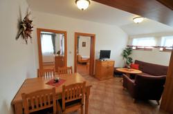 obývací pokoj apartmán B
