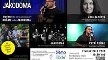 Talkshow Jakodoma se Zorou Jandovou už tento čtvrtek
