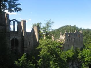 Vyražte na původně český hrad Ojvín dneš již Oybin.