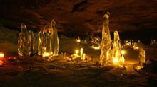 Jeskyně víl - kouzelný zimní výlet