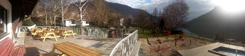 terasa, napojení na restauraci