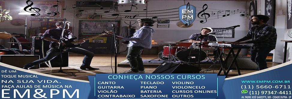 EMPM - Escola de Musica (Minas Gerais, Belo Horizonte, Nova Lima, Uberlândia, Itajubá, MG, Aulas)