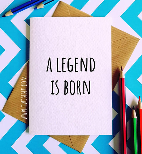 A legend is born