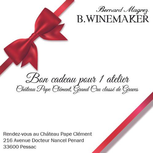 Préférence Bon cadeau B-Winemaker Cépages Pape Clément, Château Pape Clément  RN17