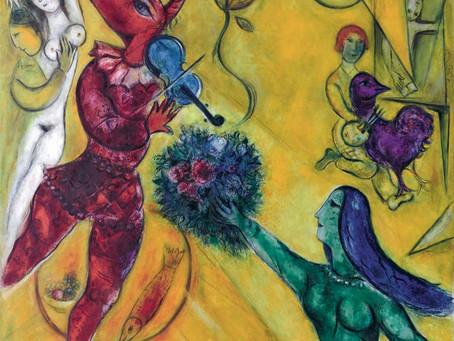 21/02/2019 - ATELIER VACANCES - Chagall et ses animaux fantastiques en décopatch