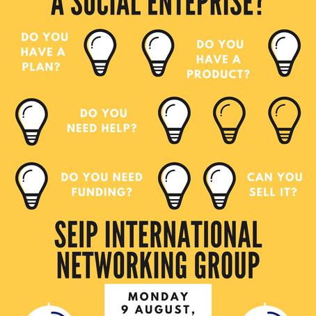 So, you're building a social enterprise?