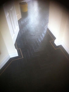 Flooring in town house by NFS Flooring in Maidenhead