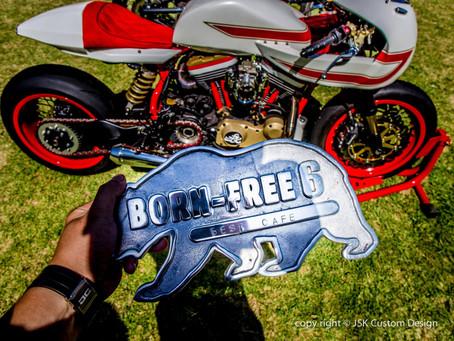 Ivory Comet won Best Café Racer at Born Free 6!!!