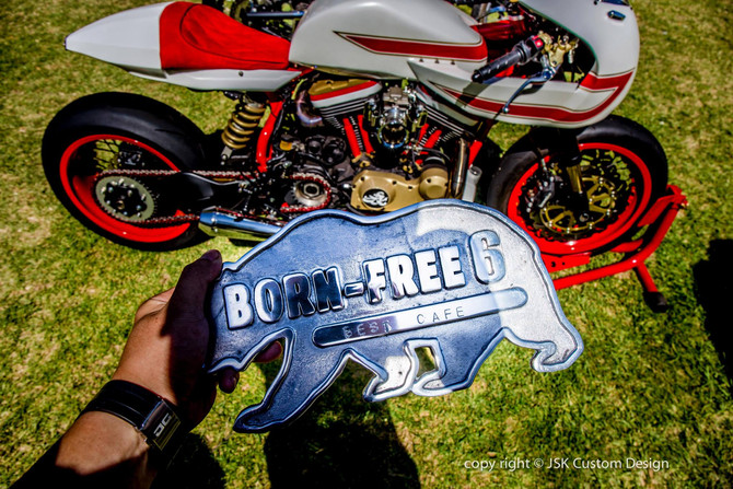 Ivory Comet won Best Café Racer at Born Free 6!!!