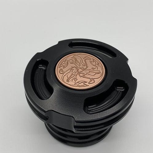 JSK Harley-Davidson Gas Cap ( Black Anodized )