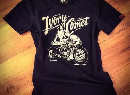 Tshirts – Ivory Comet